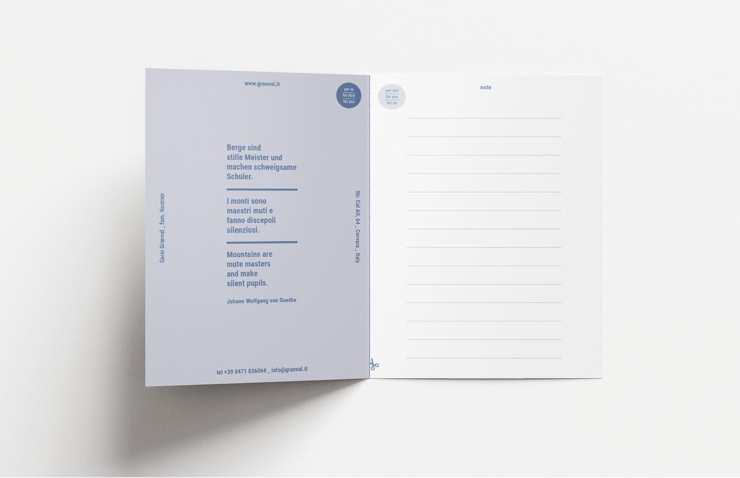 Benvenuti / Welcome info