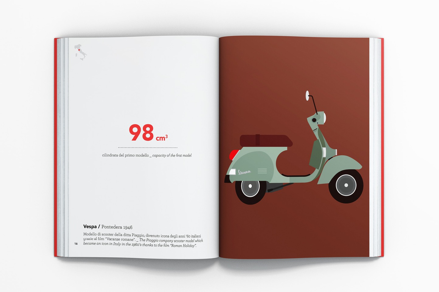 SouvenirL'Italia in 100 icone / Italy by 100 icons