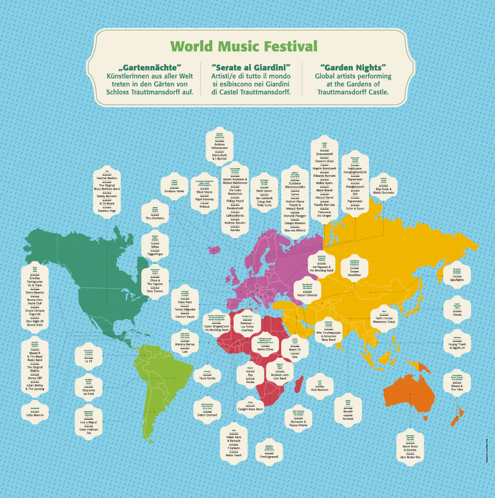Infographic map